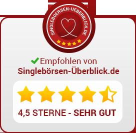 Empfohlen von Singlebörsen-Überblick.de