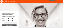 MedicSingles - Singlebörse für Ärzte und Gesundheitswesen