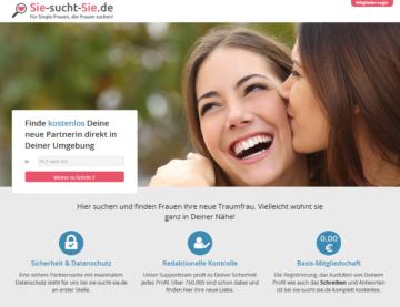 Startseite von Sie-sucht-Sie.de